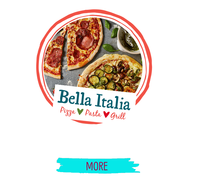 Bella Italia - Now Open!